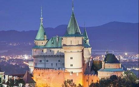 Lázeňské Bojnice - Ozdravný pobyt (nejen) pro seniory v hotelu kousek od zámku a lázní