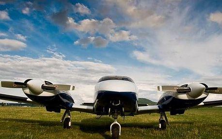 Fotolet s letadlem PA-34
