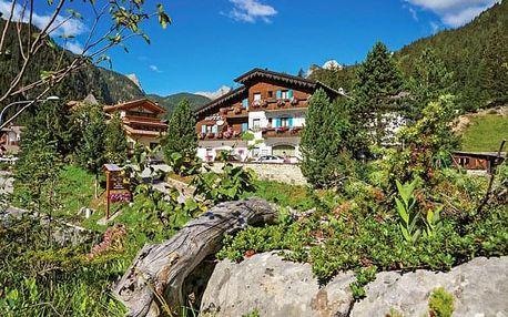 Italské Alpy na 4 - 8 dní v Hotelu Villa Eden *** s neomezeným wellness