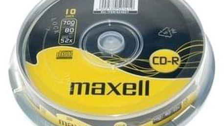 MAXELL CD-R 700MB 52x 10SP 624027 - ★ Dodatečná sleva v košíku 10 %