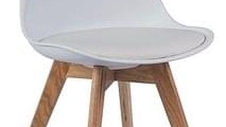 Jídelní židle KRIS buk/bílá