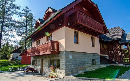 Slovenské Tatry: dovolená jen 50 m od Studeného potoka se snídaní