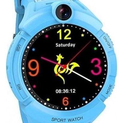 Dětské chytré hodinky GW600 s GPS, modrá - ★ SLEVA ve výši DPH - najdeš ji v košíku! + SLEVA DPH v KOŠÍKU