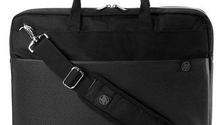 Brašna na notebook HP Pavilion Accent Briefcase, 15.6, černá - ★ Dodatečná sleva v košíku 15 %