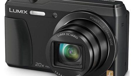 Digitální fotoaparát Panasonic ADMC-TZ55EP-K - ★ Dodatečná sleva v košíku 15 %