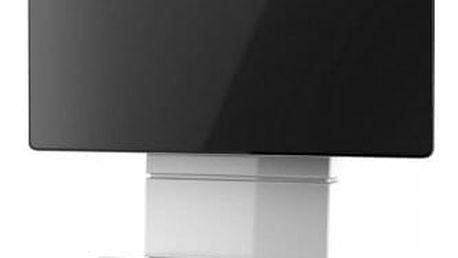 Držák televize MELICONI GHOST, VESA max 600x600, 30kg, bílý - ★ Dodatečná sleva v košíku 5 %