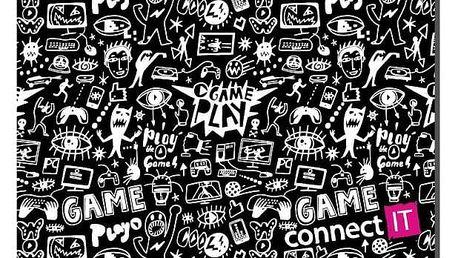 CONNECT IT Doodle, látková CMP-1120-SM - ★ Dodatečná sleva v košíku 15 %