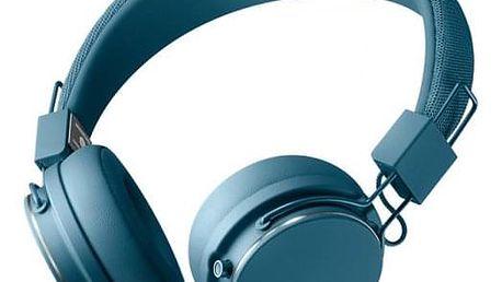 Designová sluchátka Urbanears PLATTAN II,modrá,Bluetooth - ★ Dodatečná sleva v košíku 15 %