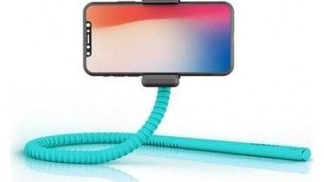 Selfie tyč Zbam GEKKOSTICK, multifunkční, tyrkysová - ★ Dodatečná sleva v košíku 15 %