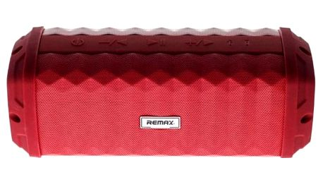Voděodolný bluetooth reproduktor Remax RB-M12, červený - ★ Dodatečná sleva v košíku 15 %