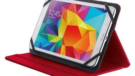 """Pouzdro s podstavcem Trust Primo Folio Case, tablet 7-8"""",červená - ★ Dodatečná sleva v košíku 15 %"""