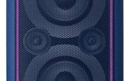 Party systém SONY GTK-XB5 Modrý - ★ Dodatečná sleva v košíku 15 %