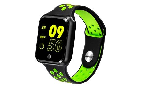 Chytré hodinky Immax SW10, černá/zelená - ★ Dodatečná sleva v košíku 5 %