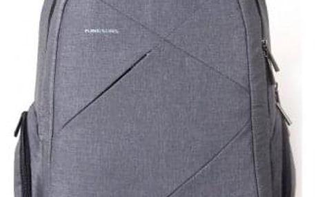 """Batoh na notebook Kingsons Sliced 15,6"""", šedá - ★ Dodatečná sleva v košíku 5 %"""