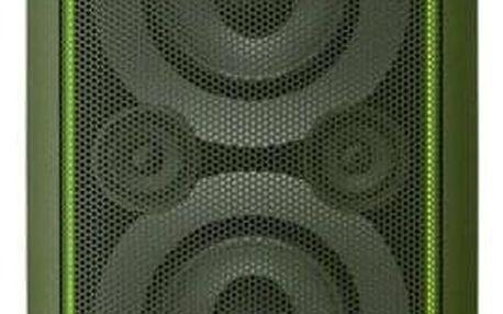 Party systém SONY GTK-XB5 Zelený - ★ Dodatečná sleva v košíku 15 %