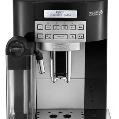 Espresso DeLonghi ECAM 22.360.B černé + dárky Příslušenství DeLonghi Skleničky espresso + Káva zrnková DeLonghi Kimbo Classic 250g v hodnotě 358 Kč + DOPRAVA ZDARMA