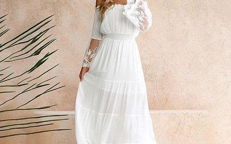 Dámské šaty s dlouhým rukávem Balbina