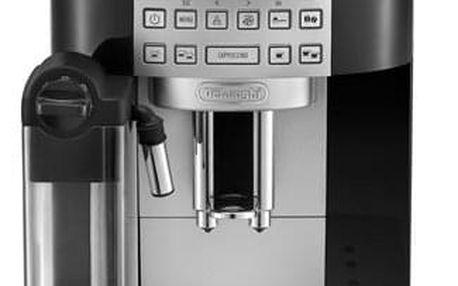 Espresso DeLonghi ECAM 22.360.B černé + dárky 2x Káva zrnková DeLonghi Kimbo Classic 250g + Příslušenství DeLonghi Skleničky espresso v hodnotě 358 Kč + DOPRAVA ZDARMA