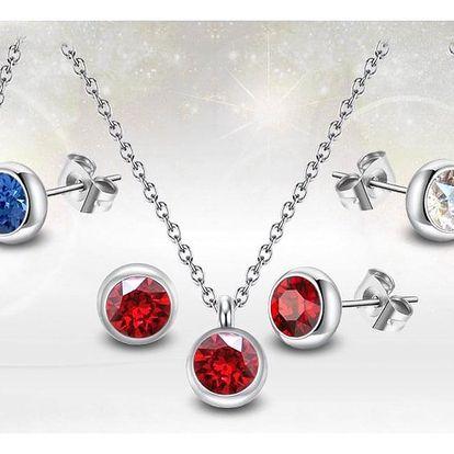 Ocelové sety s krystaly Swarovski®