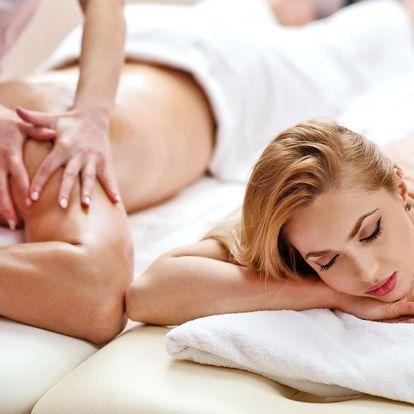 90 minut ve wellness a thajská masáž pro 1 nebo 2
