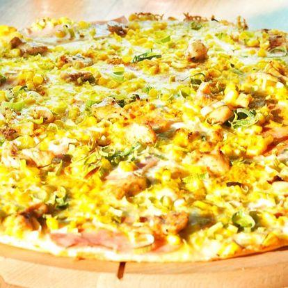 Chacharova pizza z pestré nabídky pro 1 nebo 2