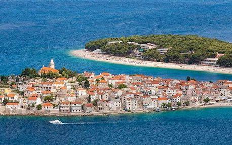 Chorvatsko - Severní Dalmácie na 6 dnů, polopenze