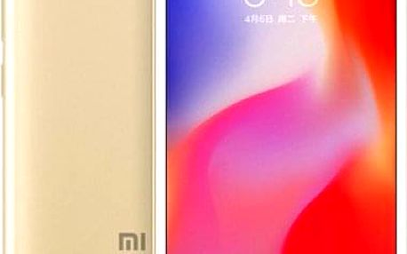 Mobilní telefon Xiaomi Redmi 6A 2GB/16GB, zlatá