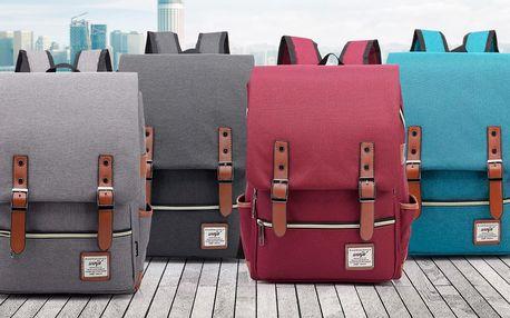 Trendy retro batoh v šesti barvách