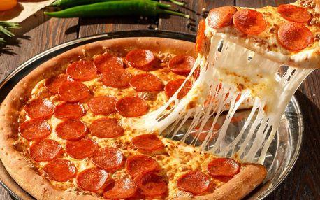 28cm pizza podle výběru a limonáda pro 1 i 2 os.