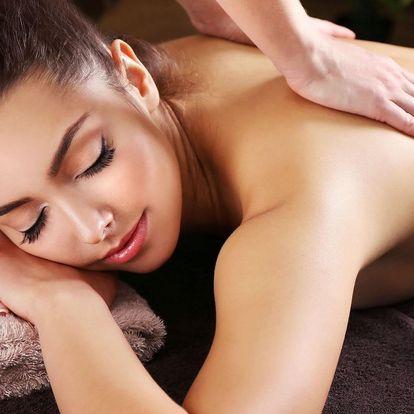 Hodinová dovolená: thajská masáž podle výběru