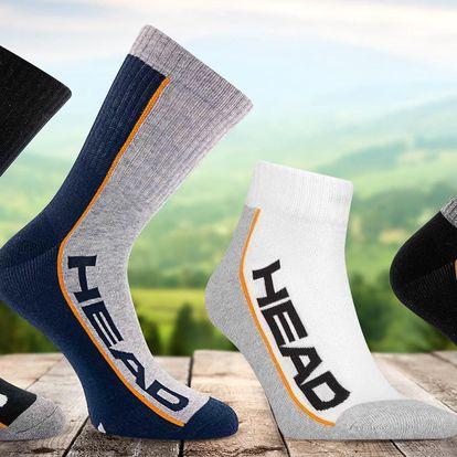 Unisexové ponožky Head