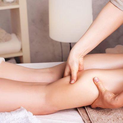 Manuální lymfatická masáž dolních končetin