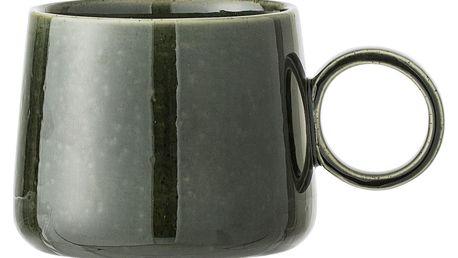 Bloomingville Keramický hrnek Joëlle Green, zelená barva, keramika