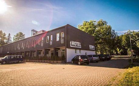 Sázava v Hotelu Sázavský ostrov s polopenzí, koloběžkami a vstupem do kláštera