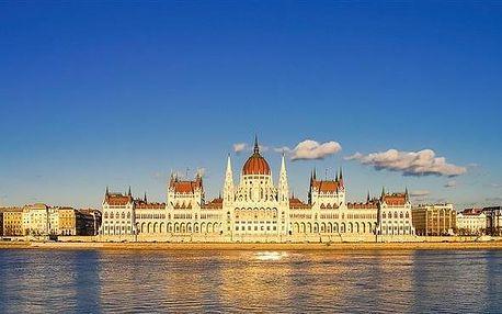 Maďarsko - Budapešť na 3 dny, snídaně s dopravou autobusem