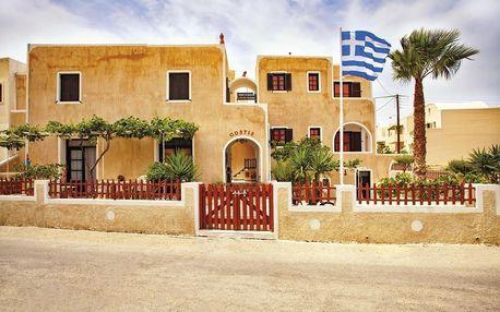 Řecko - Santorini na 8 dní, večeře nebo bez stravy s dopravou letecky z Prahy