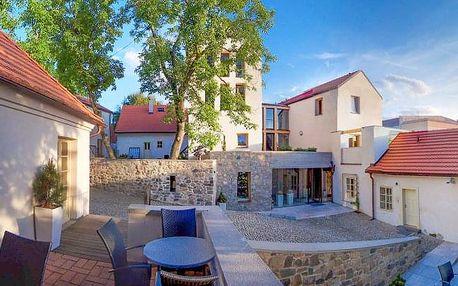 Bellevue Hotel Karlov **** Benešov s polopenzí, saunou a vstupem na zámek