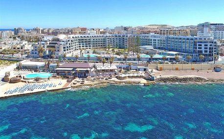 Malta - Dolmen (St. Paul's Bay) na 8 dní, polopenze nebo snídaně s dopravou letecky z Prahy