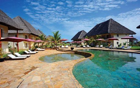 Zanzibar - Kiwengwa na 9 dní, all inclusive s dopravou letecky z Prahy