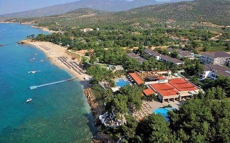 Řecko - Thassos na 8 dní, polopenze s dopravou letecky z Prahy