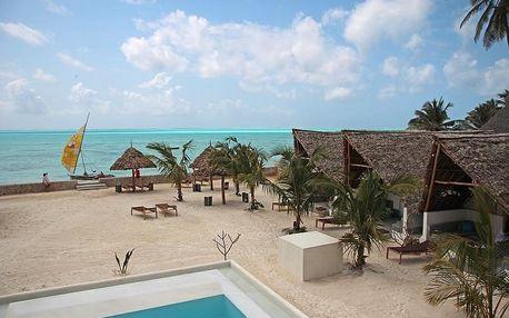 Zanzibar - Nur Beach na 9 dní, polopenze s dopravou letecky z Prahy