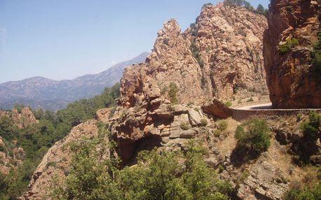 Romantická Korsika, Corse du Sud, Francie, autobusem, bez stravy