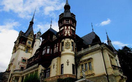 Rumunsko - velký okruh - hory, kláštery, Drákulova Transylvánie, Moldávie, Rumunsko, autobusem, polopenze