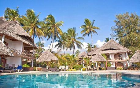 Zanzibar - Waridi Beach Resort & Spa na 9 až 12 dní, all inclusive s dopravou letecky z Prahy