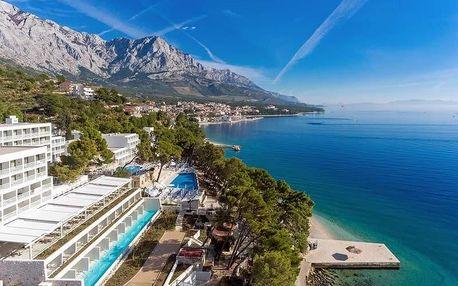 Chorvatsko - Brela autobusem na 10 dnů, polopenze