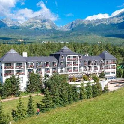 Vysoké Tatry: Hotel Hubert **** s polopenzí a neomezeným wellness + dítě zdarma