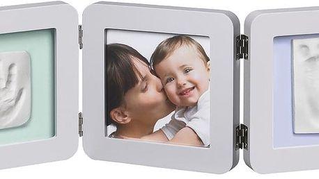 BABY ART Dvojitý rámeček na otisky + foto – Pastel