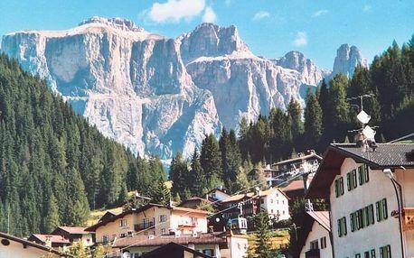Srdce Dolomit – Marmolada, Sella Ronda, Latemar, Sella Ronda