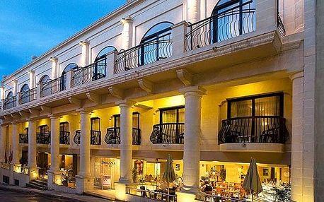 Malta - Mellieha na 8 až 11 dní, plná penze, polopenze, snídaně nebo bez stravy s dopravou letecky z Prahy