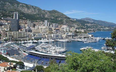 Nice, Monaco, Cannes - letecky, Francouzská riviéra